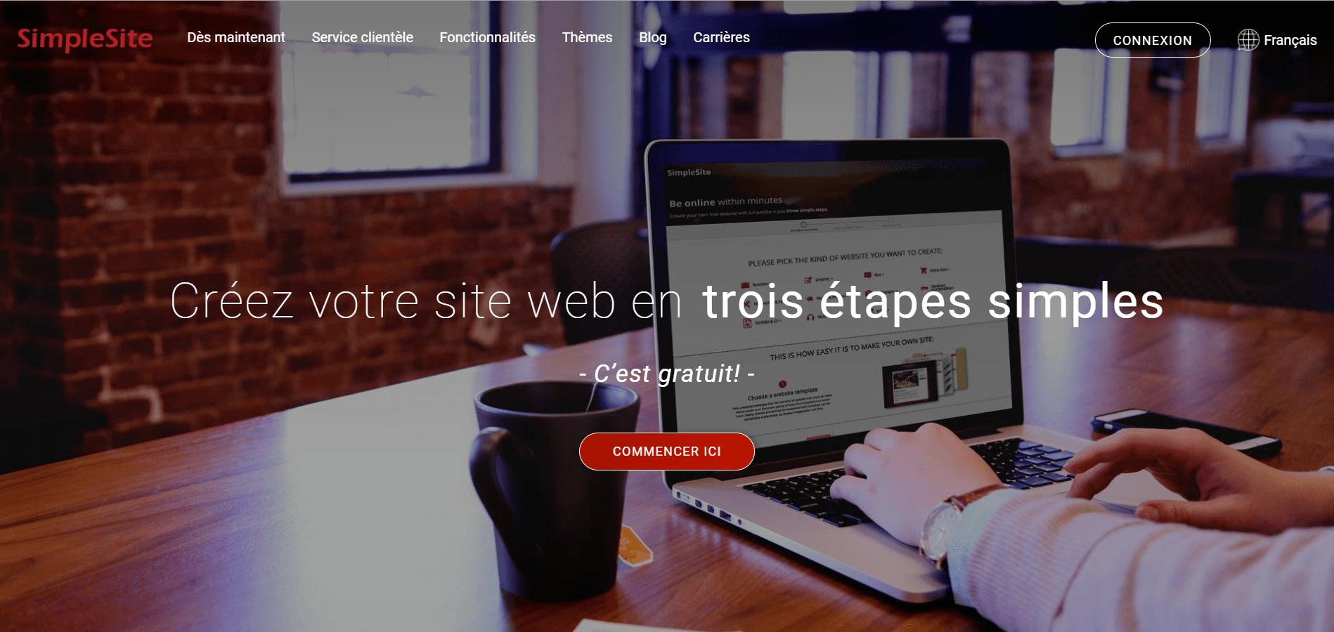 SimpleSite Homepage