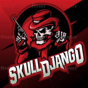 Skull Logo - SkullDjango