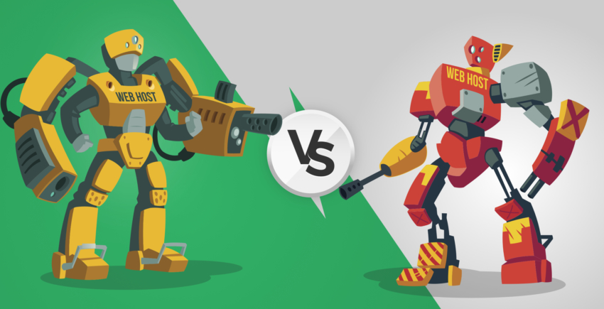 TMDHosting vs SiteGround: Quasi alla pari ma c'è 1 vincitore [2020]