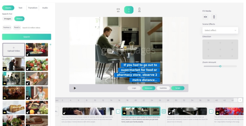 designs AI Videomaker App