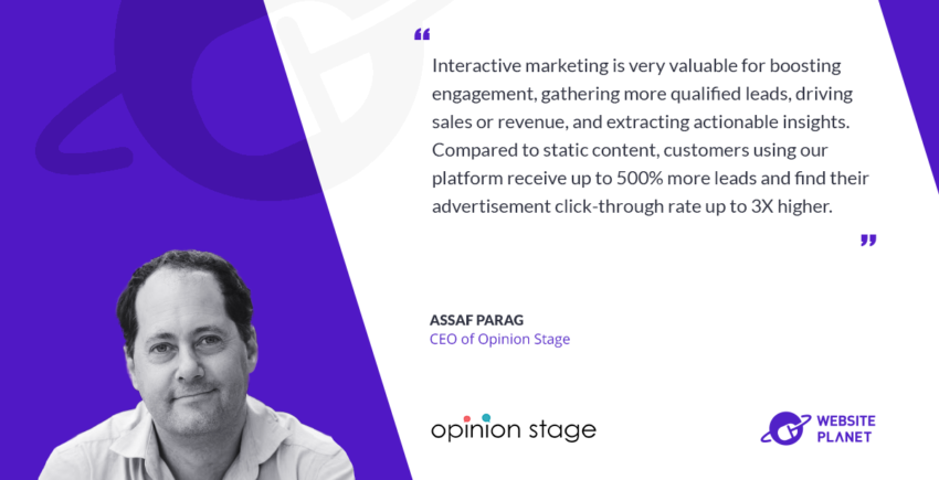 Opinion Stage Increases User Engagement with Interactive Experiences