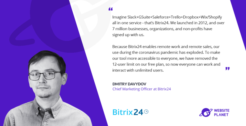 Bitrix24 – Free and Unlimited Online Business Solutions