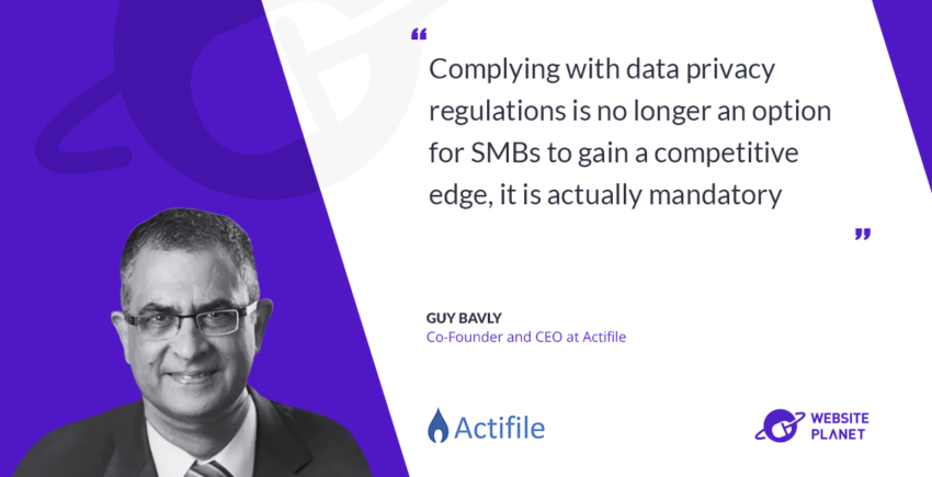 Interview with Actifile CEO Guy Bavly