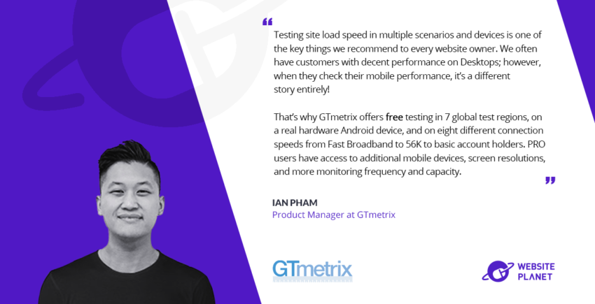 GTmetrix - Assuring Optimal Website Performance for All Your Users