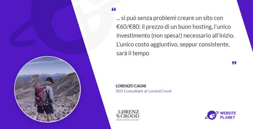 Quanto costa creare un sito web professionale - Intervista con Lorenz Crood