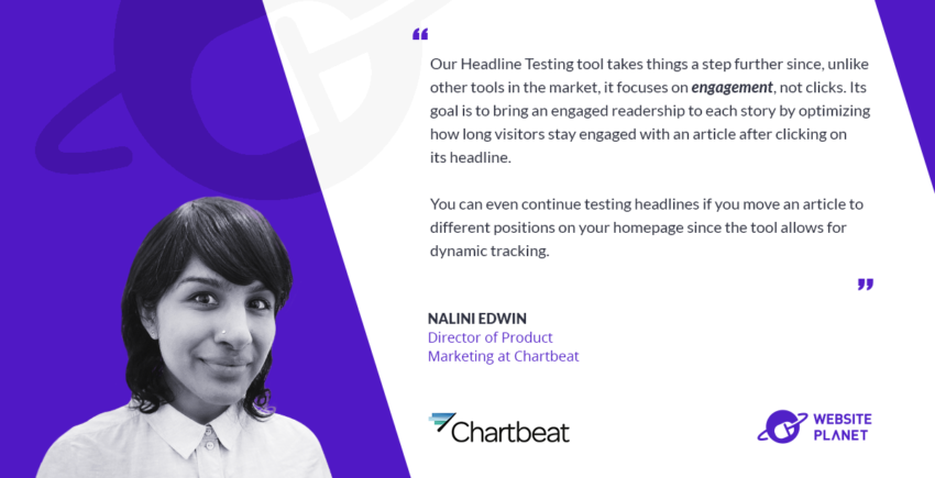 Chartbeat -  Analytics, Insights, and Optimization for Digital Content
