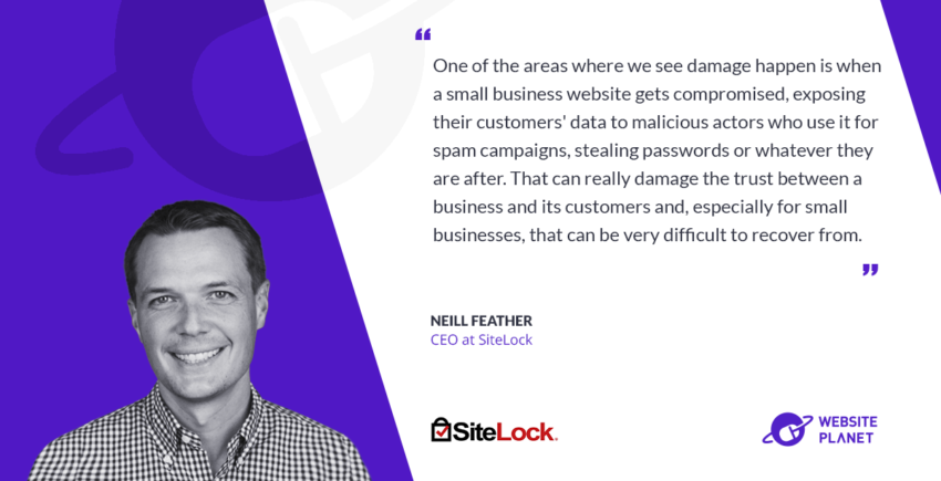 Interview with SiteLock founder and CEO Neill Feather