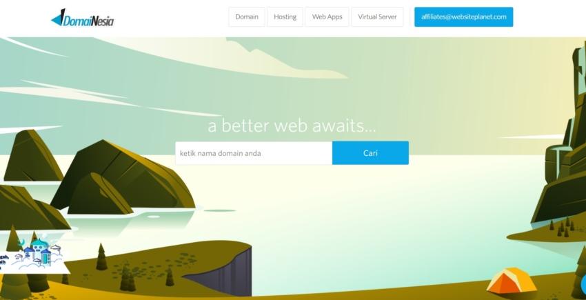 domainesia-homepage