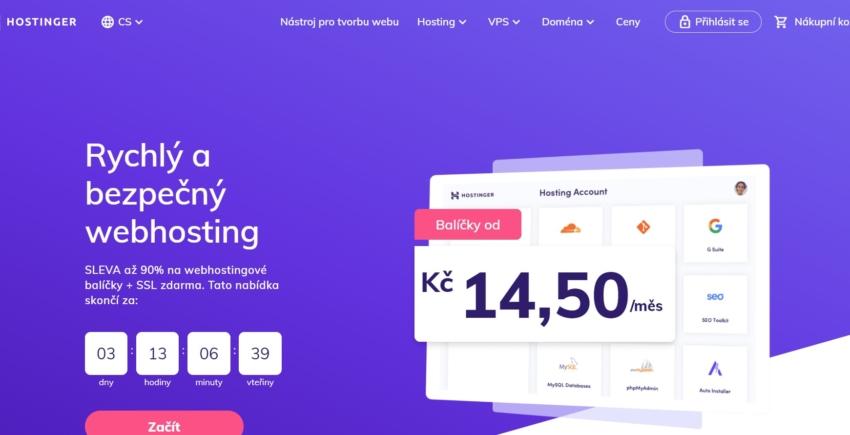 Hostinger přehled českých poskytovalů webhostingů