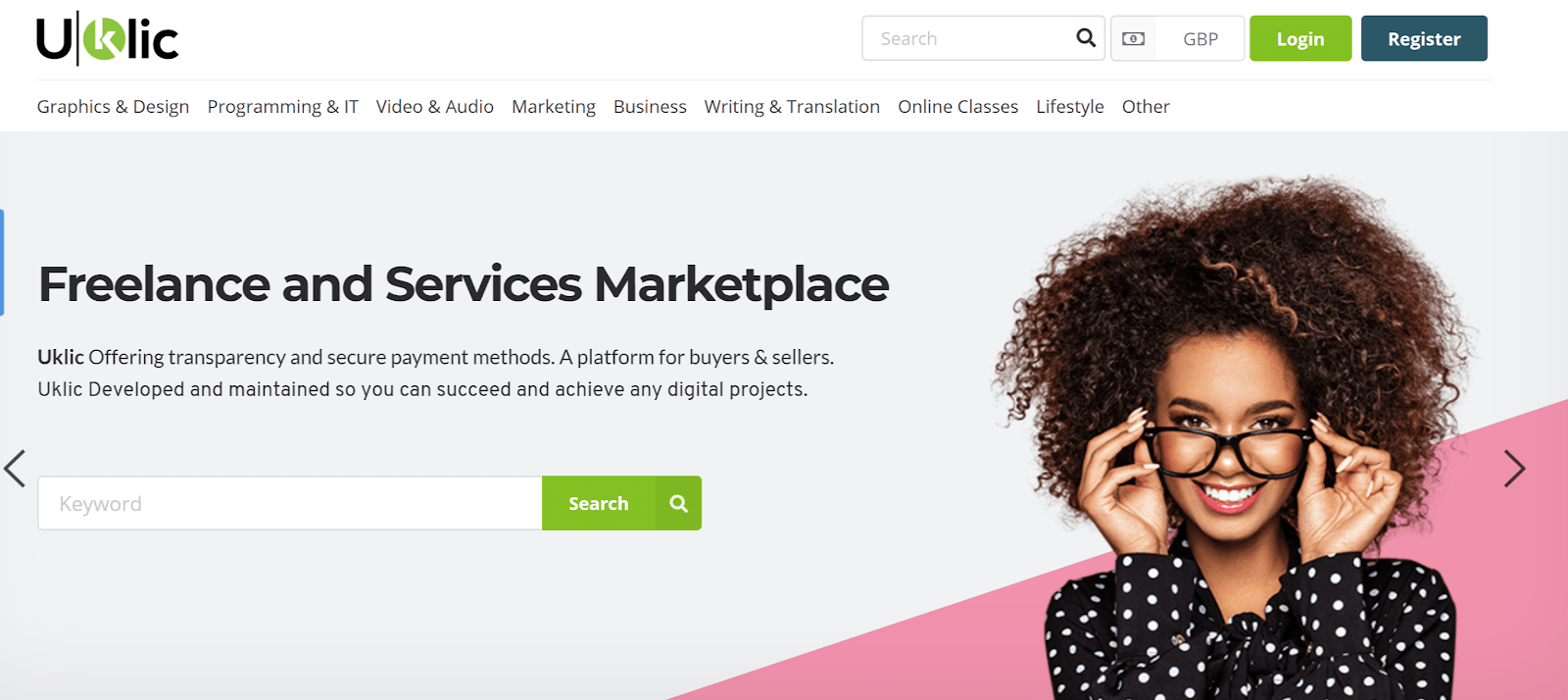 uklic home page