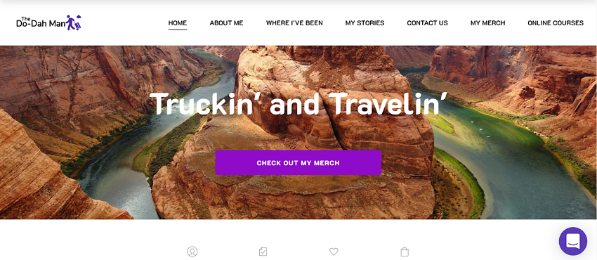 Zyro featured products homepage block