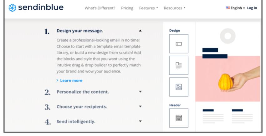 Sendinblue - Email Marketing Service