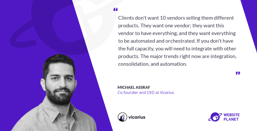 Interview with Vicarius CEO Michael Assraf)