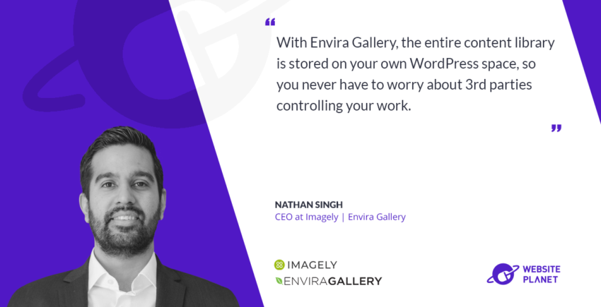Interview with Nathan Singh, ceo at envira gallery