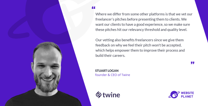Twine's Unique Process Matches Companies with the Perfect Freelancer