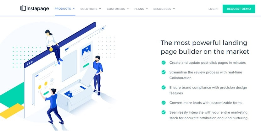 Instapage - Landing Page Builder Features