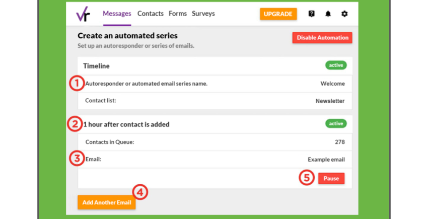 VerticalResponse email automation – best email marketing solutions