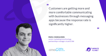 How To Leverage Your Favorite Messaging Apps To Boost Sales- Interview with amoCRM
