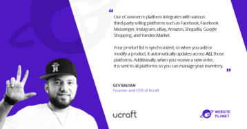 Ucraft – Intuitive Website and eCommerce Building for Non-Coders