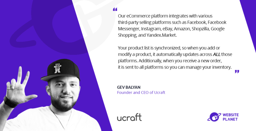 Ucraft - Intuitive Website and eCommerce Building for Non-Coders