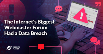 The Internet's Biggest Webmaster Forum Had a Data Breach