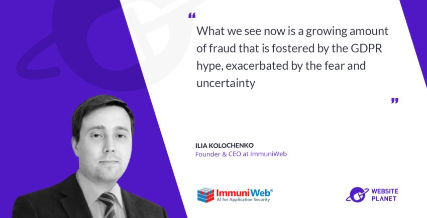 Interview with Immuniweb founder and CEO Ilia Kolochenko