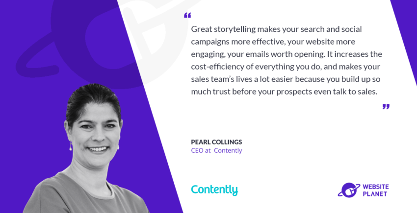 Interview with Contently CEO Pearl Collings
