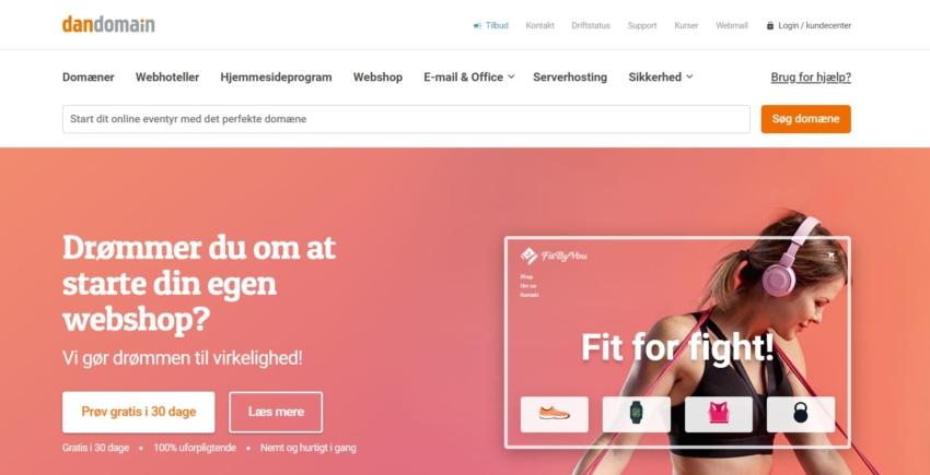 DanDomain – Måske Danmarks største webhost