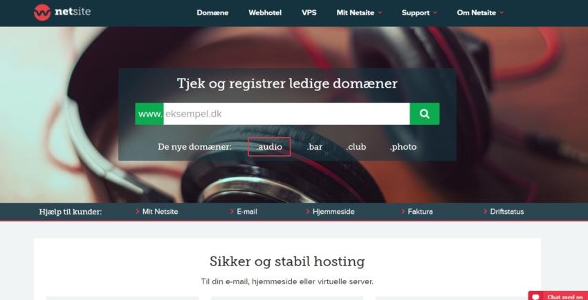 Netsite – Ekstremt erfaren webhost