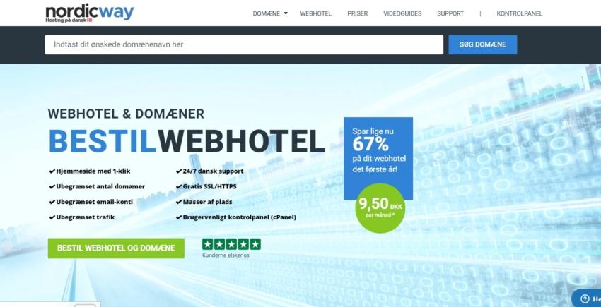 Nordicway – Danmarks måske nemmeste webhotel