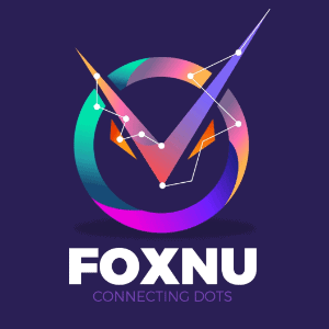 Abstract logo - Foxnu