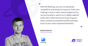 Improve Your Visibility With SE Ranking's SEO Suite