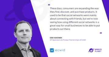 Ecwid Simplifies Ecommerce For SMB Merchants