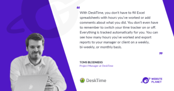 Track And Analyze Your Work Productivity With Desktime