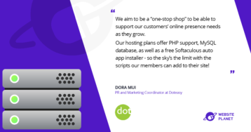 """dot"" Easy – a Reliable Premier Hosting Company"