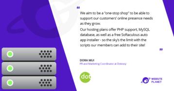 """dot"" Easy – a Reliable Premier Hosting Company"