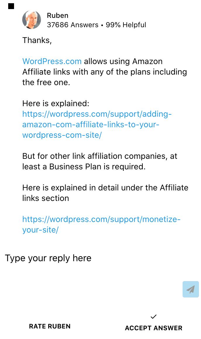 WordPress Customer Care Chat