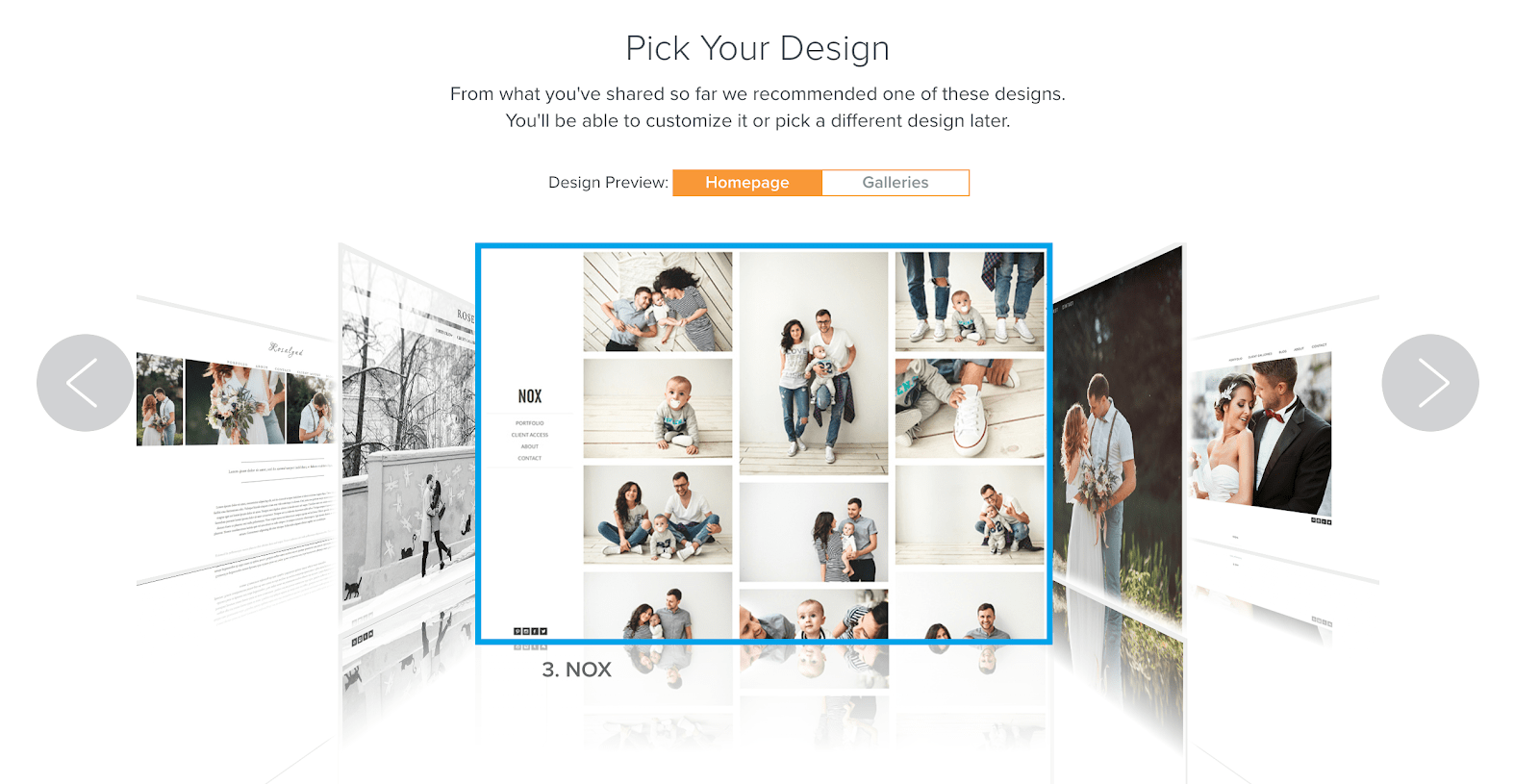 Zenfolio Template Preview