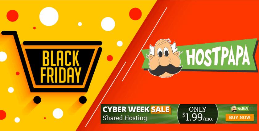 HostPapa black friday 2020 deals