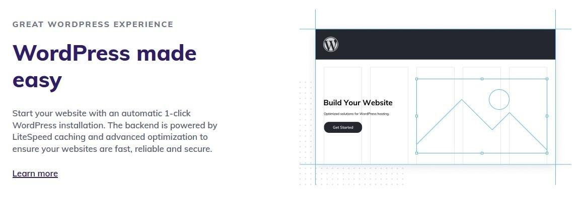 Hostinger - shared hosting for WordPress