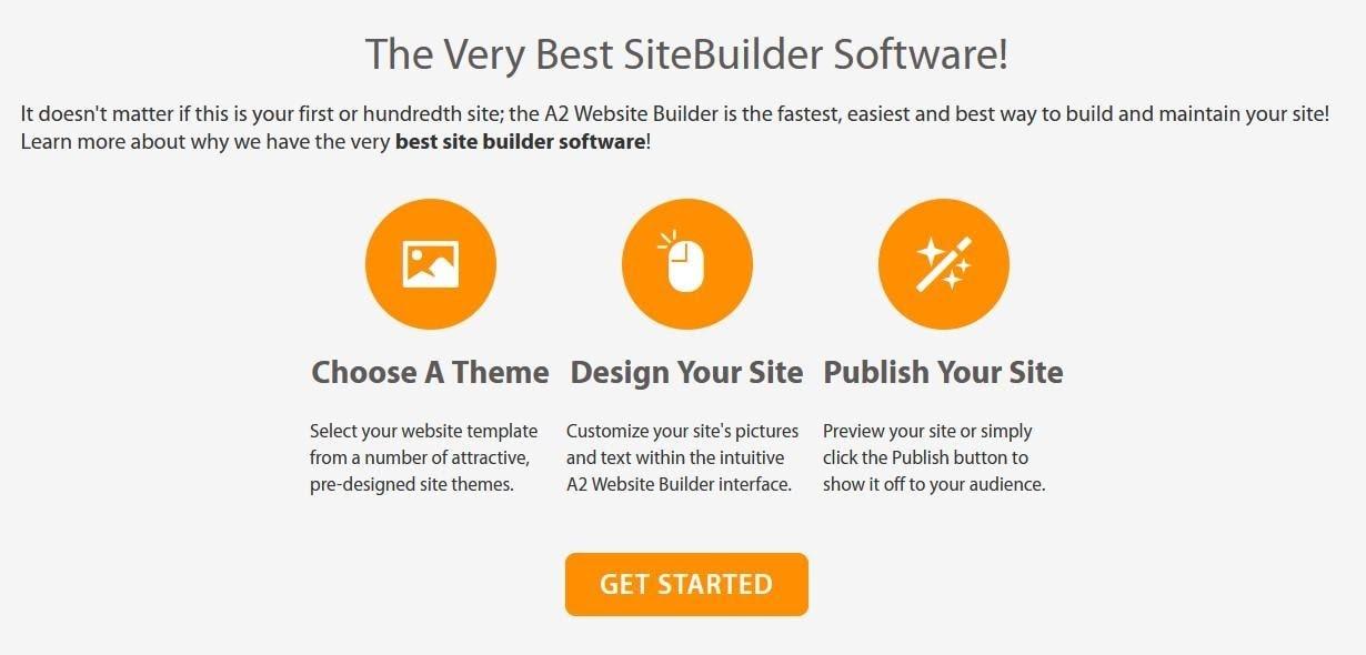 A2 Hosting - the A2 SiteBuilder