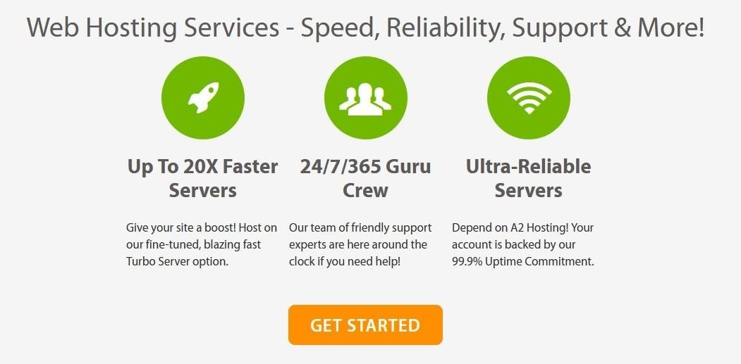A2 Hosting - Turbo features