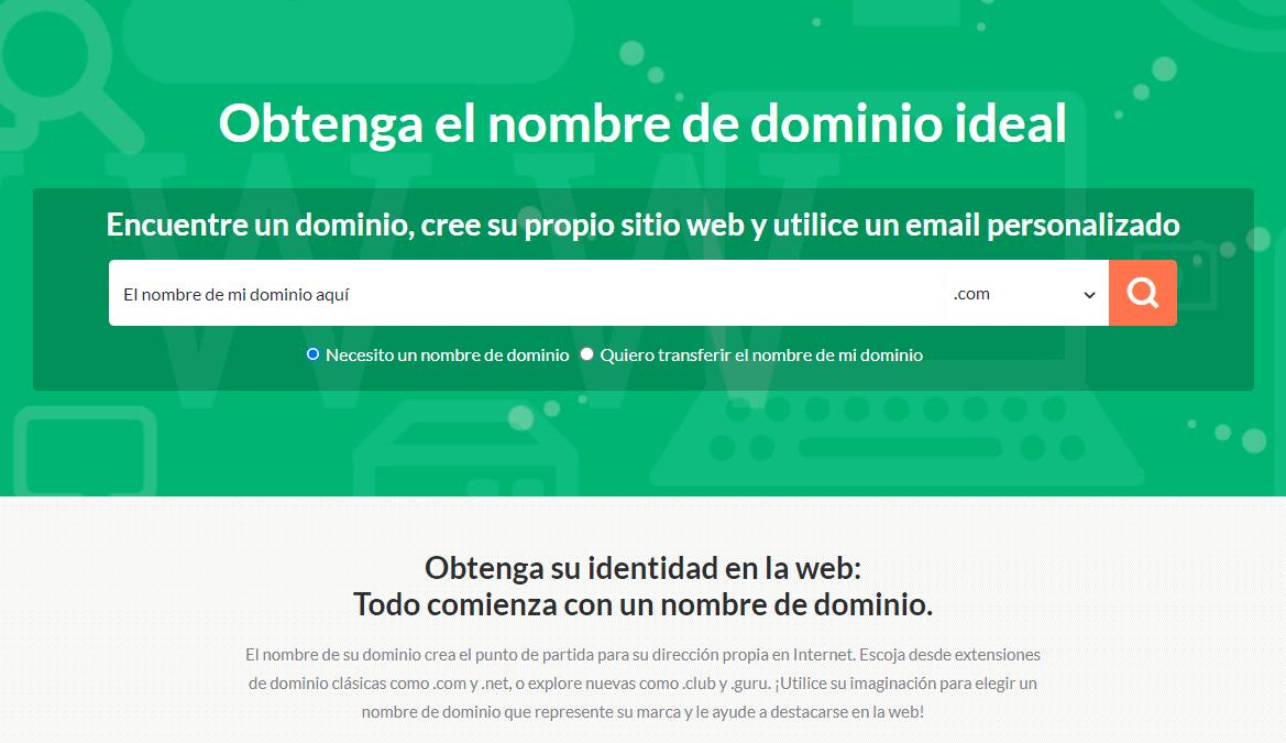 HostPapa - domain name search