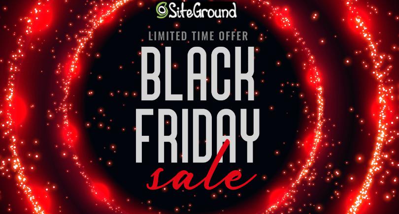 SiteGround Black Friday Cyber Monday