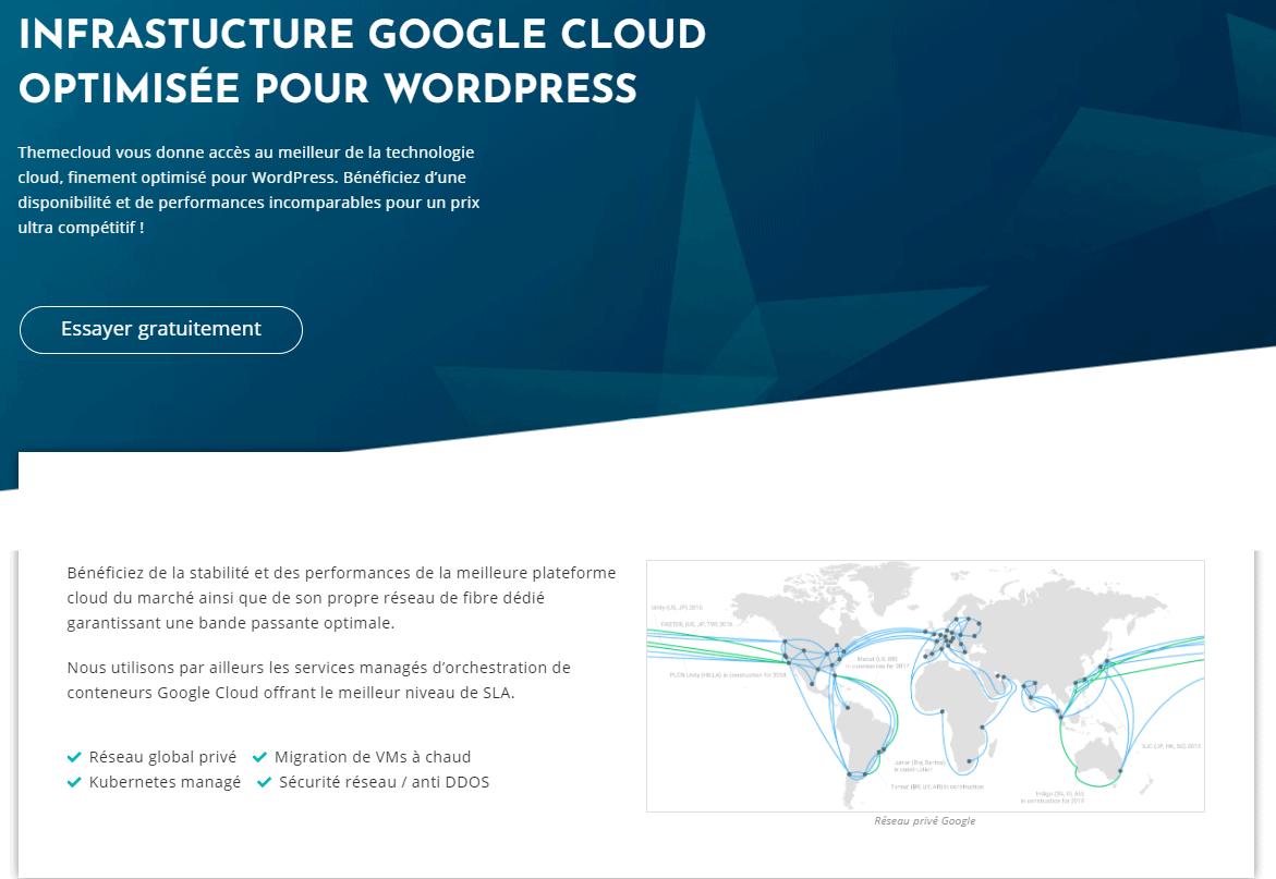 Themecloud.io features - Google Cloud Platform