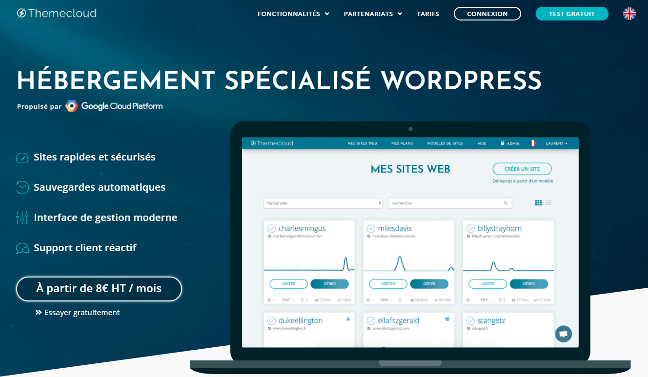 Themecloud.io services - homepage 1
