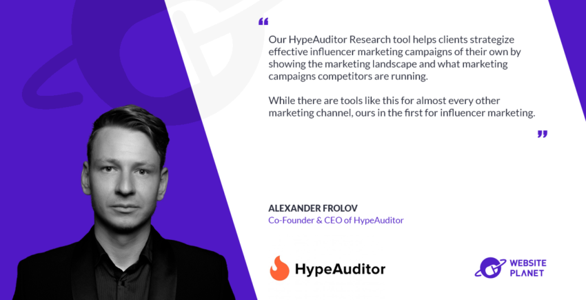 HypeAuditor Discovers Legitimate, Relevant Influencers for Your Marketing Campaigns