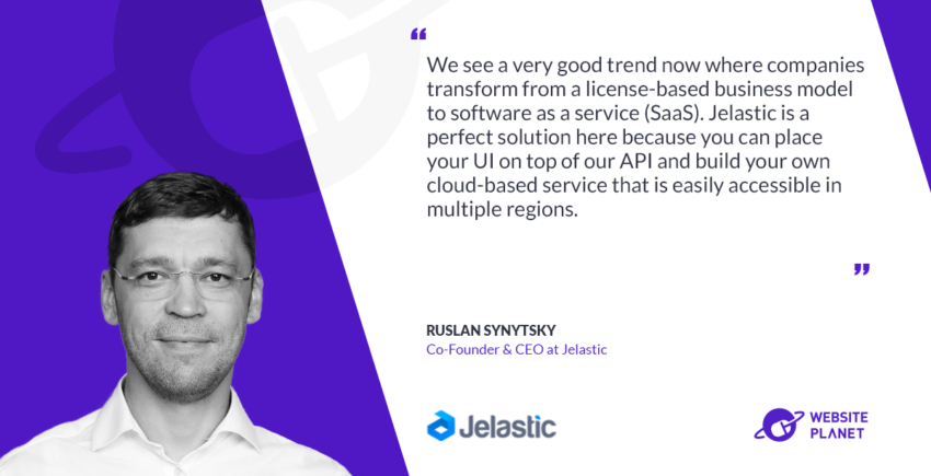 Interview with Jelastic Ruslan Synytsky