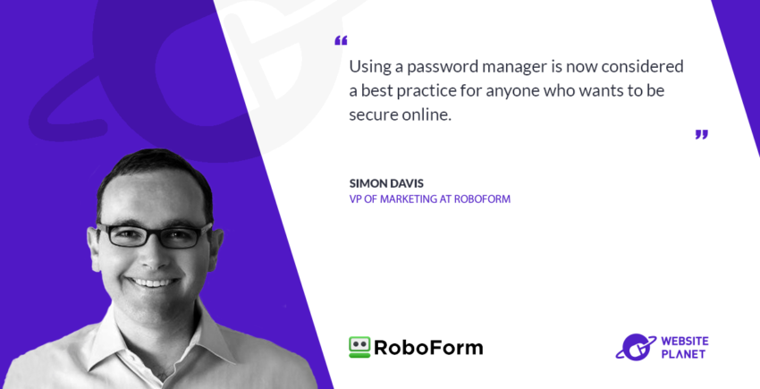 Interview with RoboForm Simon Davis