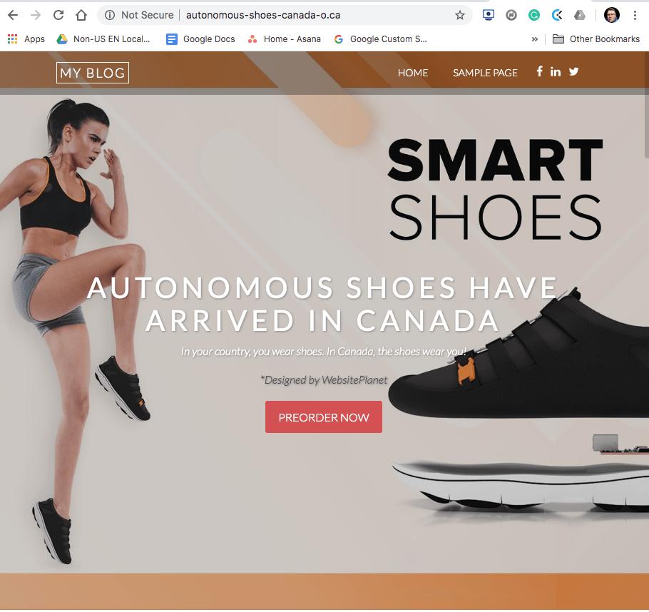 SiberName test website